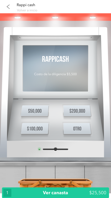 get cash with rappi