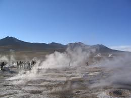 hot geysers of El Tatio,